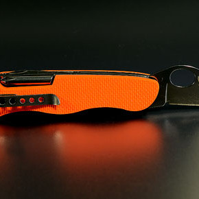 "Victorinox Soldatenmesser 08 G10 orange ""safety"""
